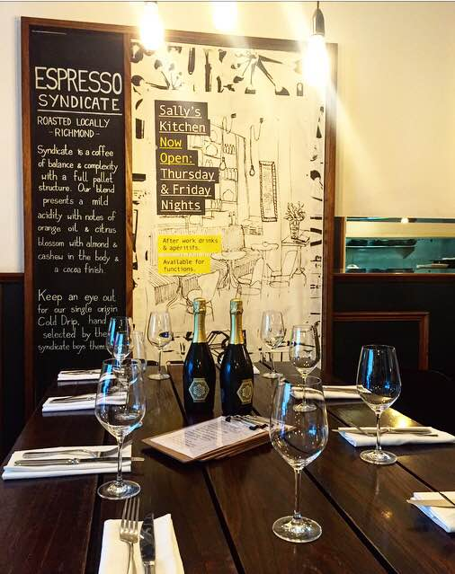 Sally\'s Kitchen, Melbourne - Menus, Reviews, Bookings - Dimmi