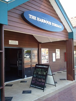 The harbour terrace hillarys menus reviews bookings for The terrace bar and grill