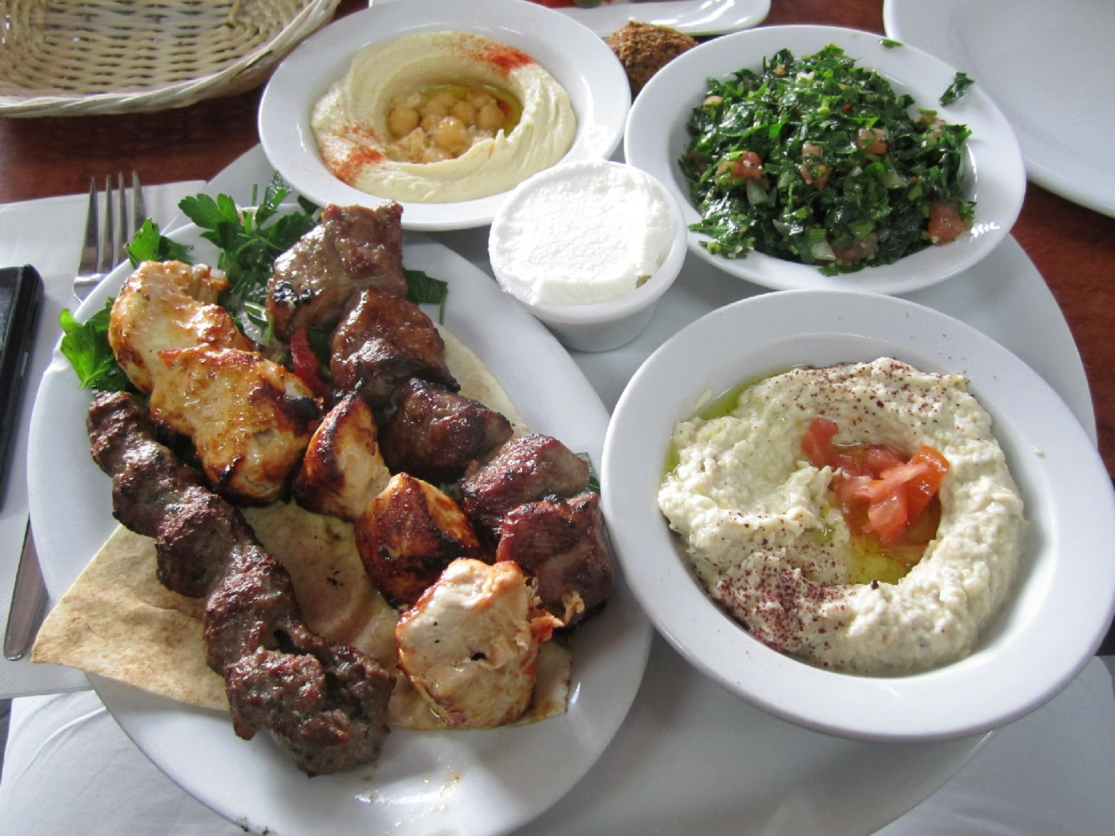 Beiyrut lebanese restaurant tuart hill menus reviews for Arabic cuisine menu